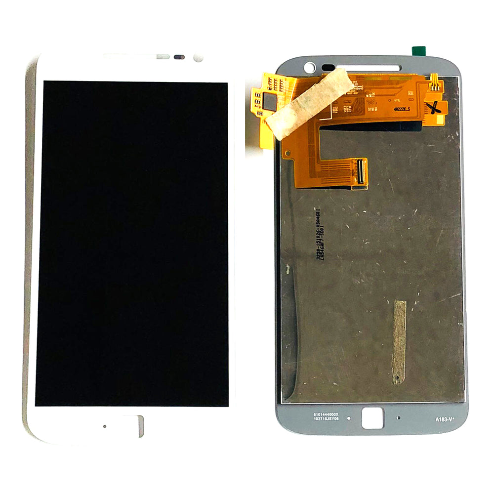 LCD Screen Touch Digitizer With Out Frame For Moto G4 Plus (XT1643) (White)