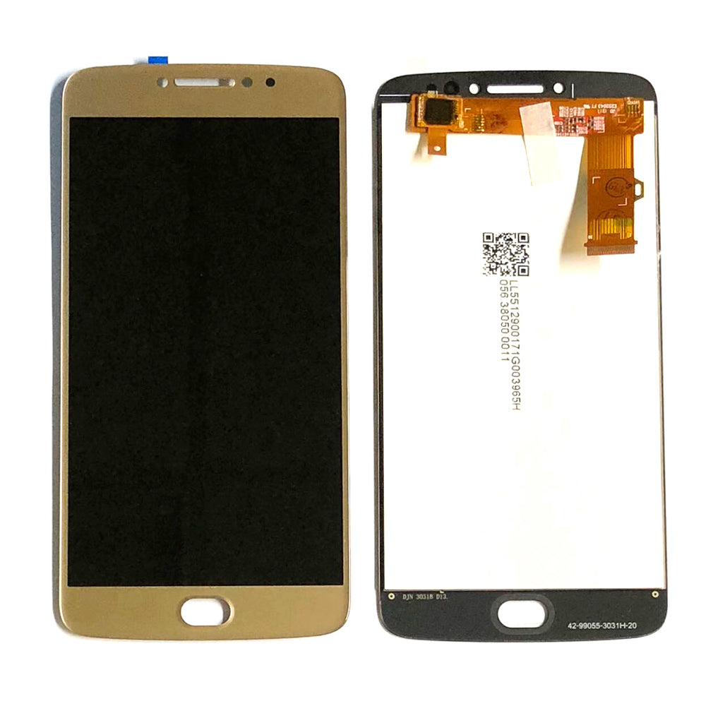 LCD Screen Touch Digitizer With Out Frame For Moto E4 Plus (XT1774) (Gold)