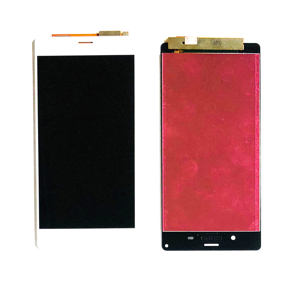 LCD Screen Touch Digitizer With Out Frame For Sony Xperia Z3 (D6603-43-53) (White)