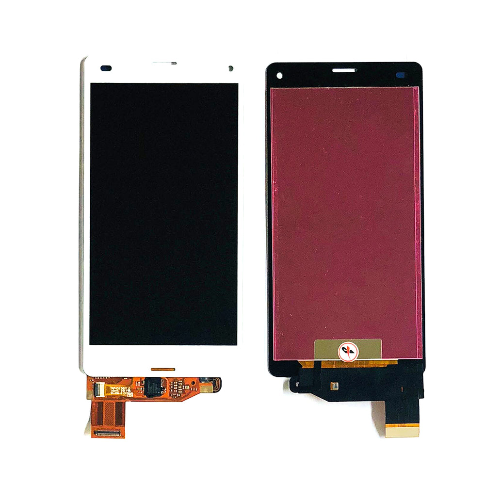 LCD Screen Touch Digitizer With Out Frame For Sony Xperia Z3 Compact Mini (D5803-33) (White)