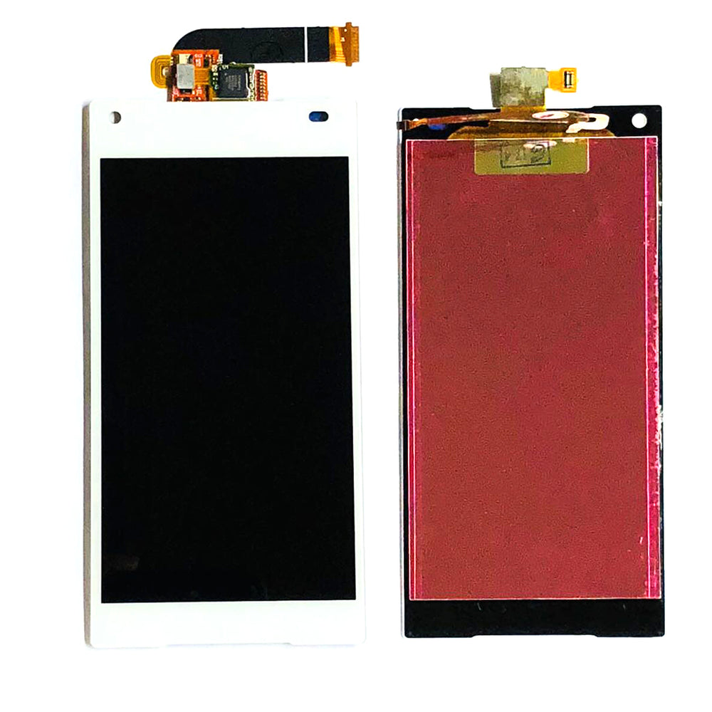 LCD Screen Touch Digitizer With Out Frame For Sony Xperia Z5 Compact Mini (E5803-23) (White)