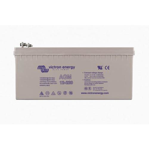 12V/130Ah AGM Deep Cycle Batt. (M8)