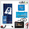 175 watt panel, 75/10 smart MPPT, Inverter, Cable, Mounting, cable Gland & 95 Ah battery. Kit 18