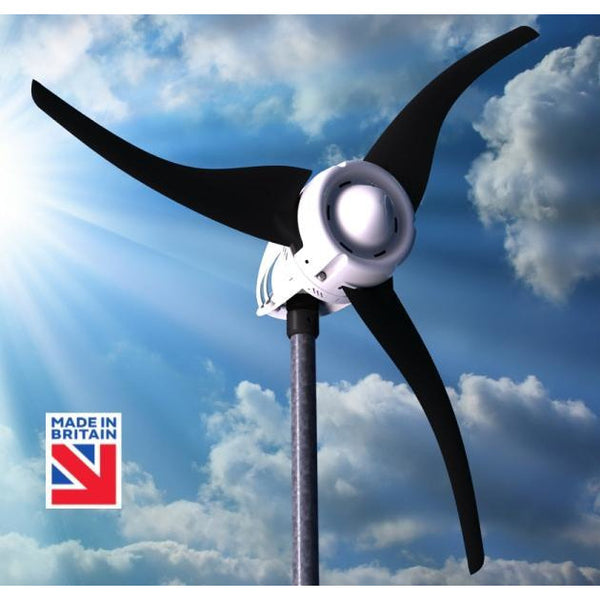 LE-600 Wind Turbine (12/24/48V) Generates high power outputs in all wind conditions