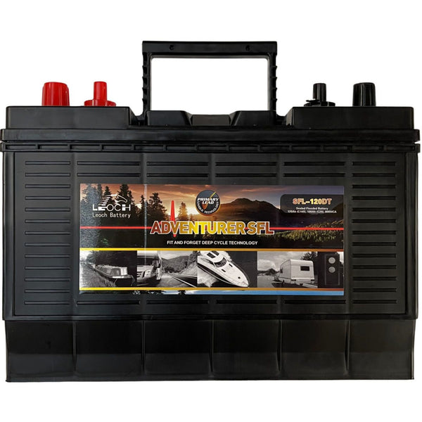 Leoch 120 Ah Leisure battery 3 year warranty