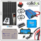 Qcell 320 watt panel, Smart 100/20 MPPT, 1 kW inverter, Smart Battery Monitor Cable, Mounting & Gland & 110 Ah AGM Batteries kit 42