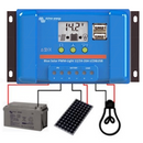 Victron 350 watt of panels, solar controller, Inverter, Cable, Mounting, cable Gland & 240 Ah of batteries. Kit 14