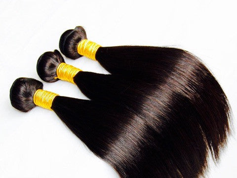 Virgin Remy 100% Human Hair Extensions- Straight