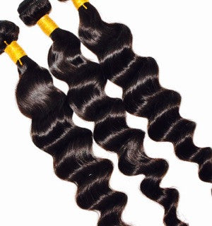 Virgin Remy 100% Human Hair Extensions- Deep Wave