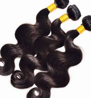 Virgin Remy 100% Human Hair Extensions- Body Wave