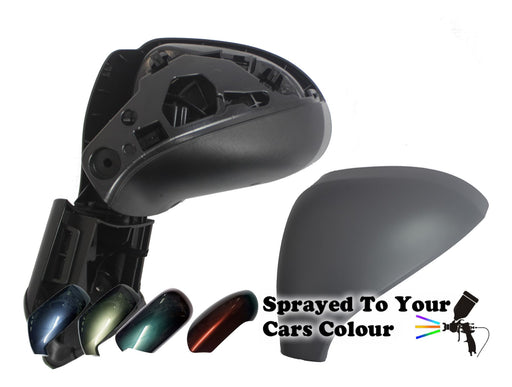 Peugeot 308 2007-4/2014 Wing Mirror Power Folding Passenger Side N/S Painted Sprayed
