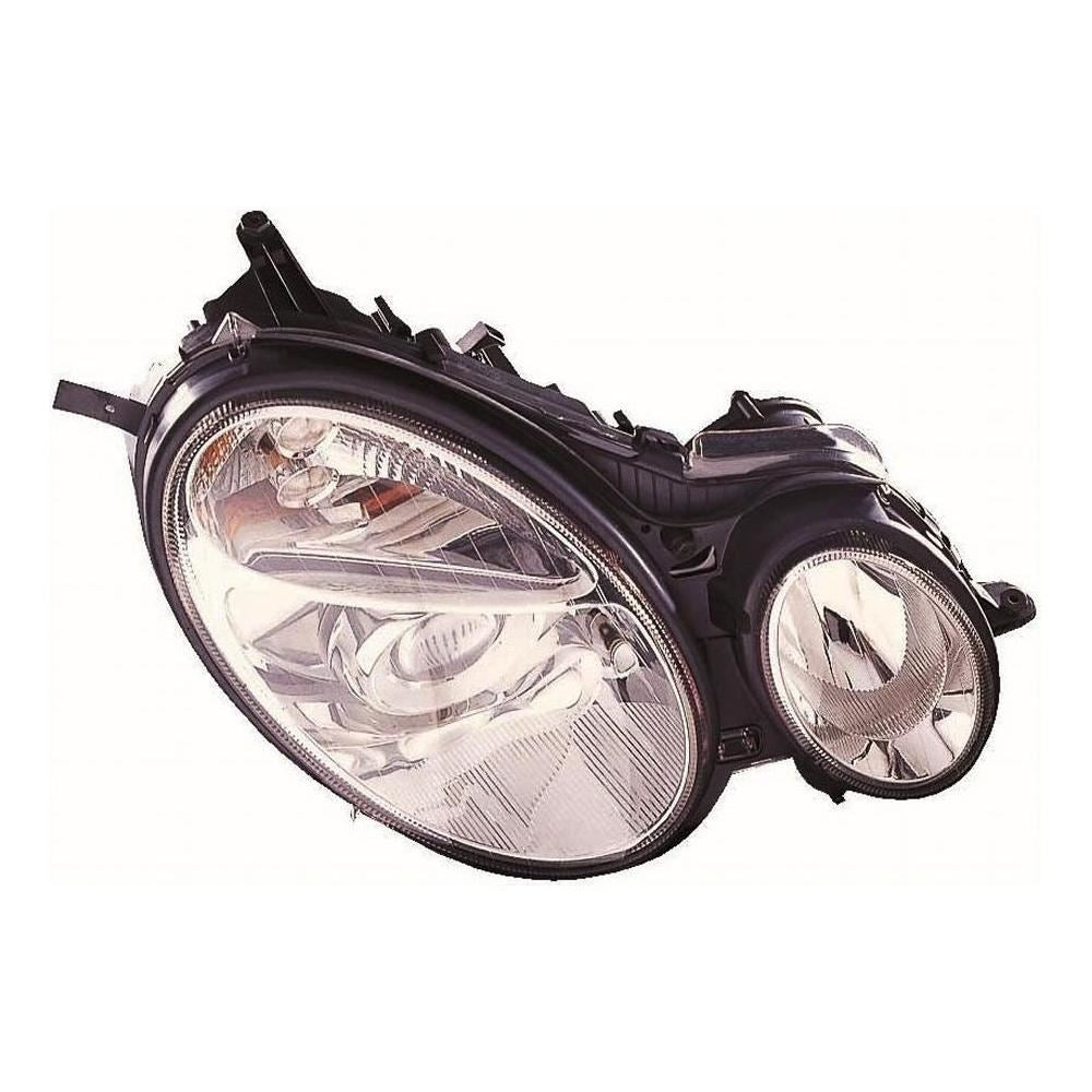 Mercedes E Class W211 Saloon 6/2002-8/2006 Headlight Headlamp Drivers Side O/S