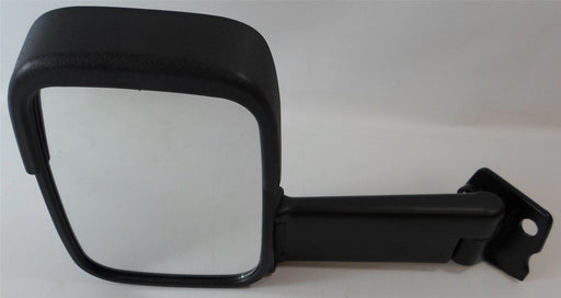 Ford Transit 1986-1994 Long Arm Wing Mirror Manual Black Passenger Side N/S