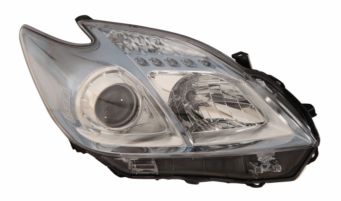 Toyota Prius ZVW30 Hatch 4/12-6/16 Light Blue Tint Headlight Drivers Side O/S