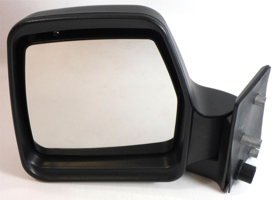 Fiat Scudo Mk.1 1995-2006 Manual Wing Mirror Black Textured Passenger Side N/S
