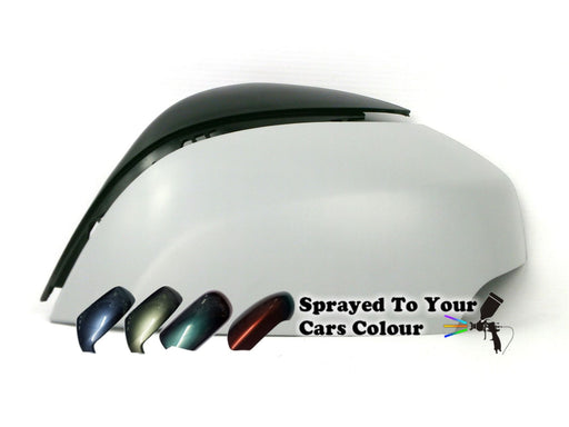 Renault Scenic Mk.3 (Incl. Grand & XMOD) 6/2009-2/2017 Wing Mirror Cover Passenger Side N/S Painted Sprayed