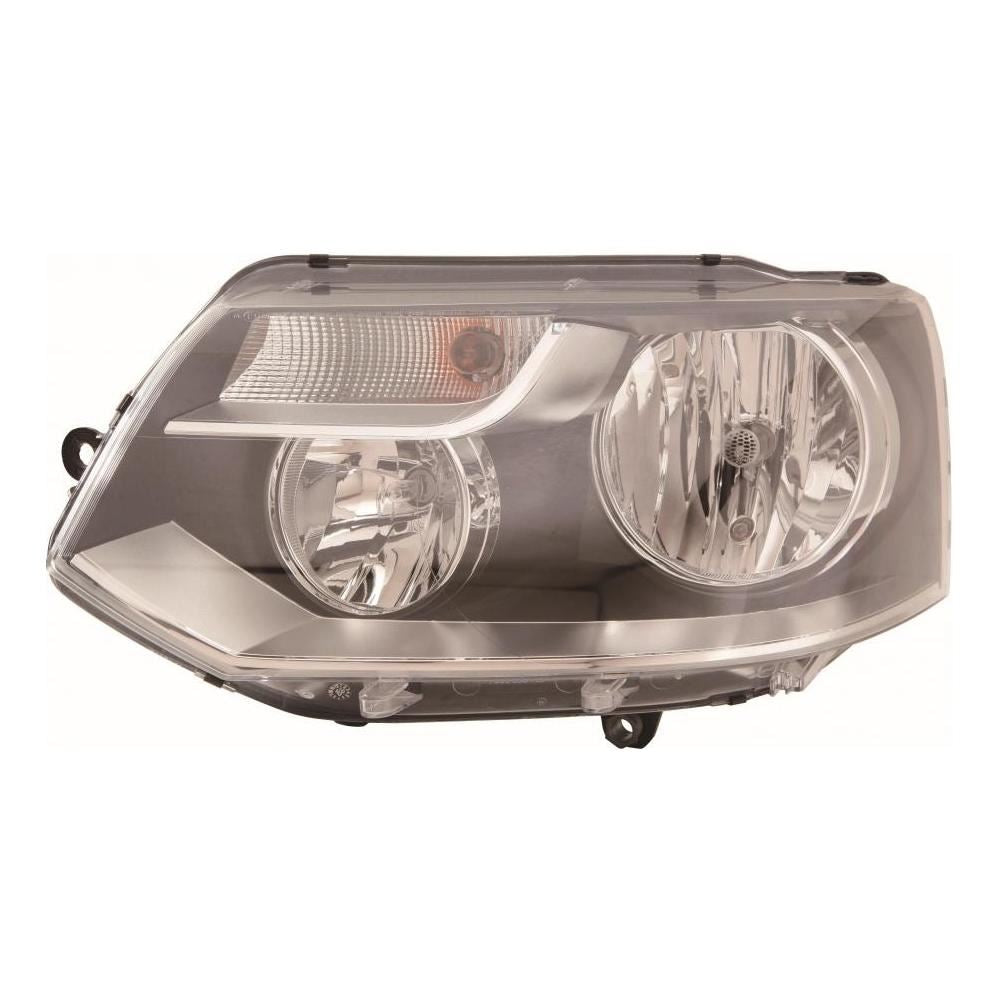 VW Transporter T5 Van 1/2010-2015 Twin Reflector Headlight Passenger Side N/S