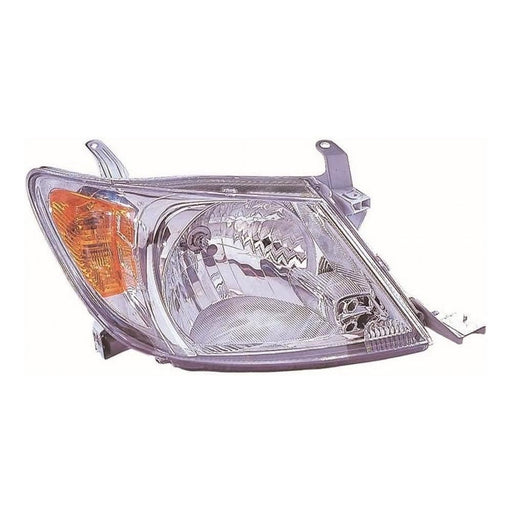 Toyota Hi-Lux Mk5 Pickup 10/2005-3/2010 Headlight Headlamp Drivers Side O/S