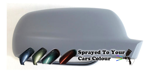 Volkswagen Golf Mk.4 10/1997-6/2004 Wing Mirror Cover Drivers Side O/S Painted Sprayed