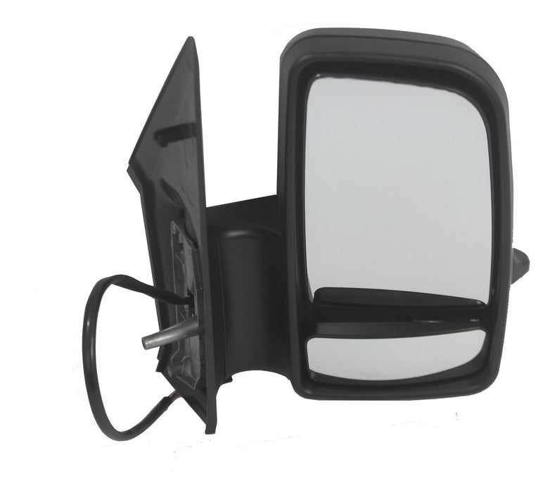 Volkswagen Crafter 2006-10/2017 Short Arm Wing Mirror Electric Drivers Side O/S