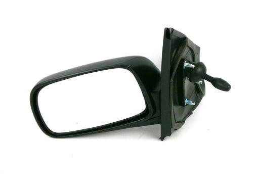 Toyota Yaris Mk1 1999-5/2003 Cable Wing Mirror Black Textured Passenger Side N/S