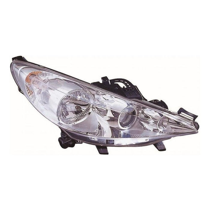 Peugeot 207 CC Convertible 5/2010-2013 Headlight Headlamp Drivers Side O/S
