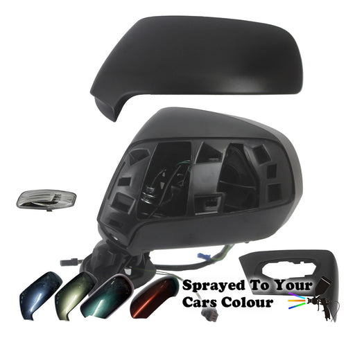 Citroen C4 Picasso Mk1 06-13 Wing Mirror Power Folding Passenger Side Painted Sprayed