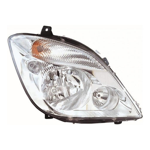 Mercedes Sprinter Mk2 2006-3/2014 Headlight Headlamp Excl Fog Drivers Side O/S