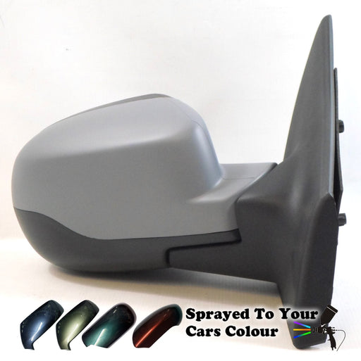 Renault Clio 5/2009-4/2013 Electric Wing Mirror Heated Drivers Side O/S Painted Sprayed