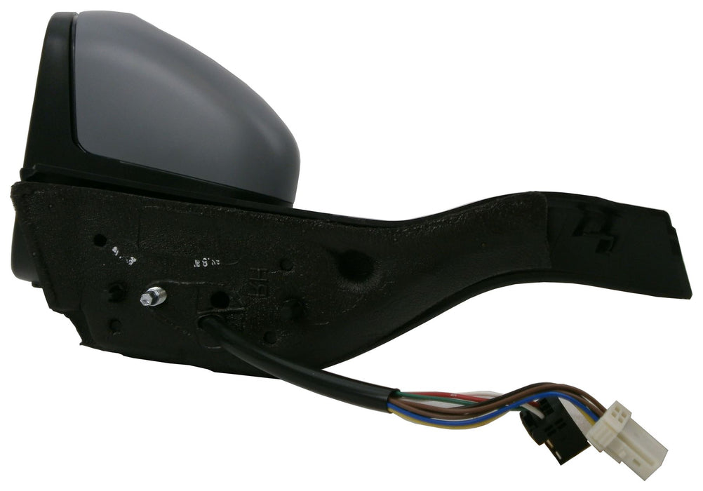 Peugeot 2008 13+ Electric Wing Mirror Heated Indicator Black Arm Passenger Side