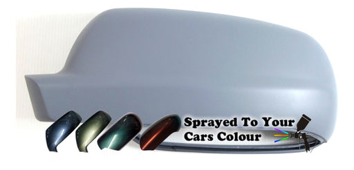 Volkswagen Golf Mk.4 10/1997-6/2004 Wing Mirror Cover Passenger Side N/S Painted Sprayed