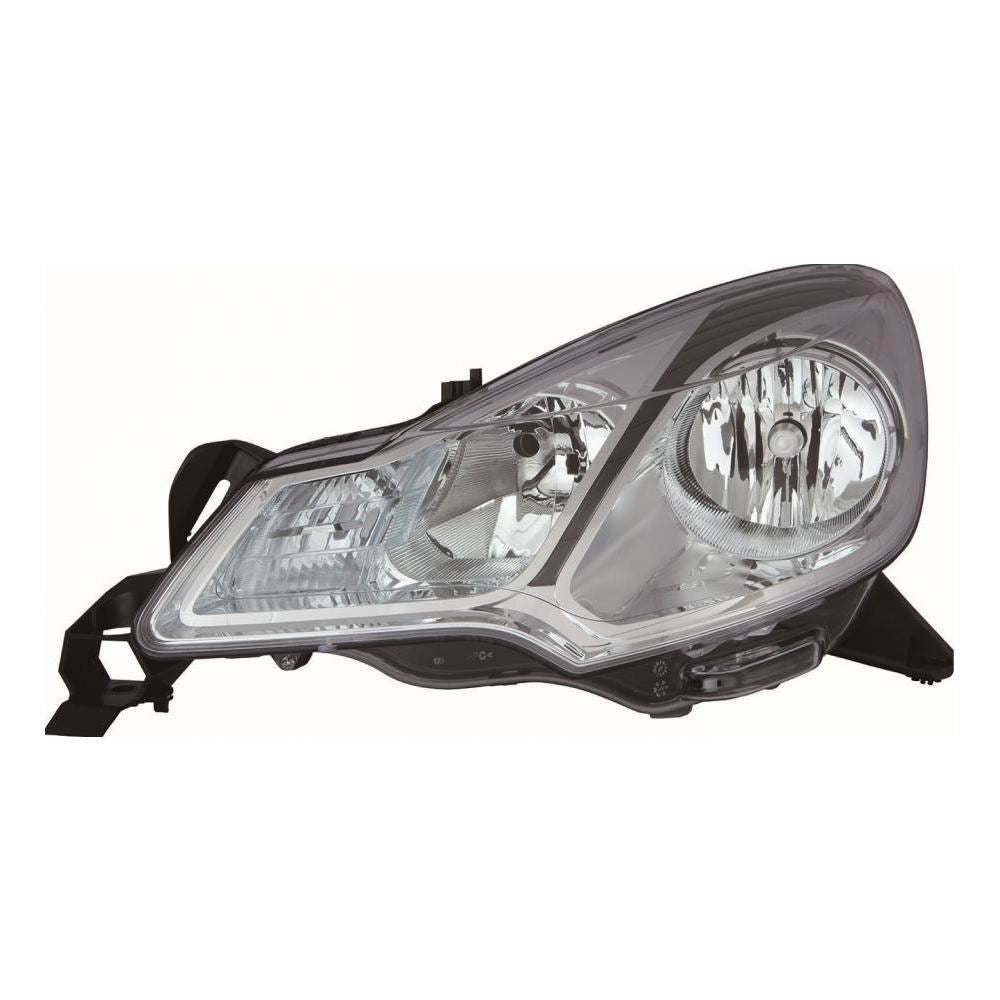 Citroen DS3 A55 Hatchback 4/2012-8/2015 Headlight Headlamp Passenger Side N/S