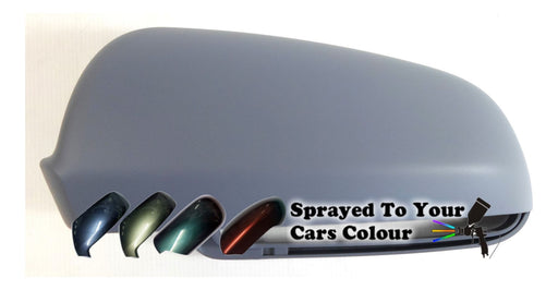 Audi A3 Mk.2 (Excl. S3 & RS3) 3/2003-7/2008 Wing Mirror Cover Passenger Side N/S Painted Sprayed