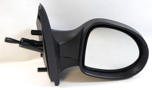 Renault Twingo Mk1 2007-2/2012 Cable Wing Mirror Black Textured Drivers Side O/S