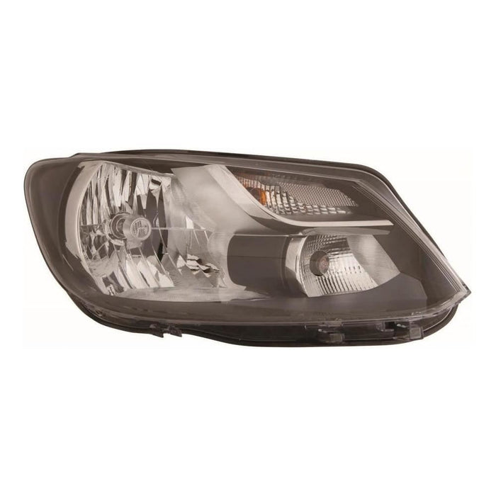 Volkswagen Touran Mk2 MPV 9/10-15 Single Reflector Headlight Drivers Side O/S