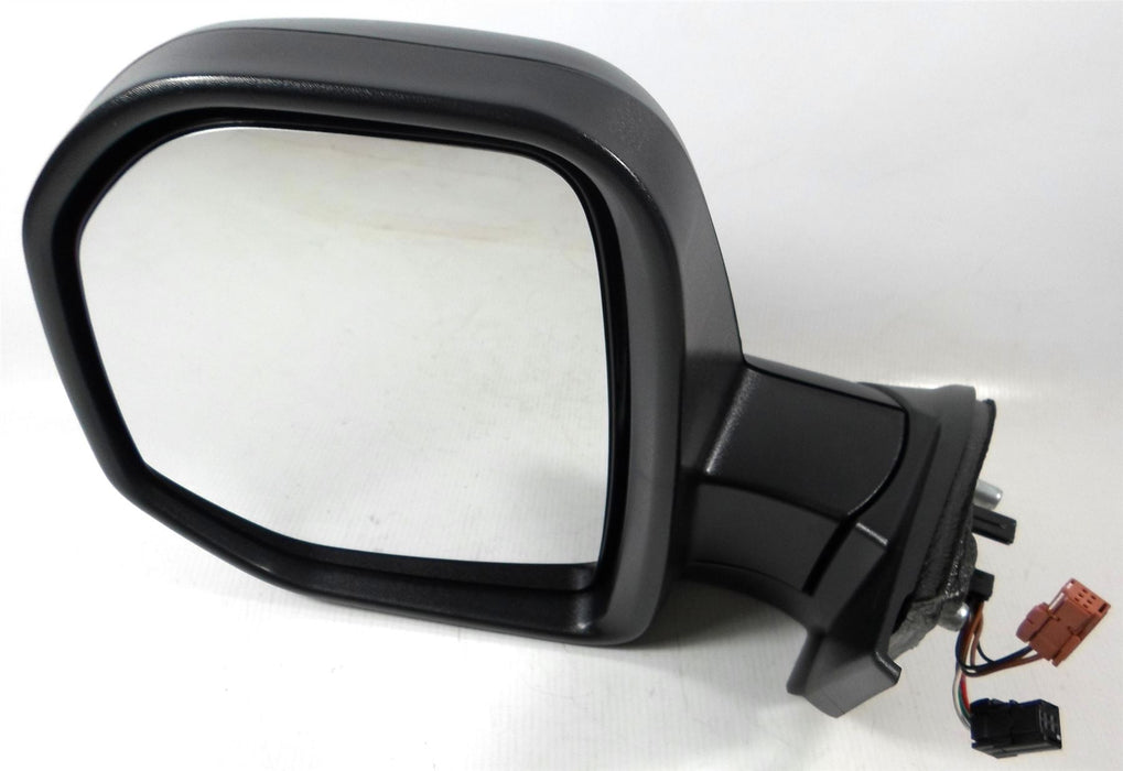 Citroen Berlingo Mk2 7/2008-4/2012 Electric Wing Mirror Black Passenger Side N/S