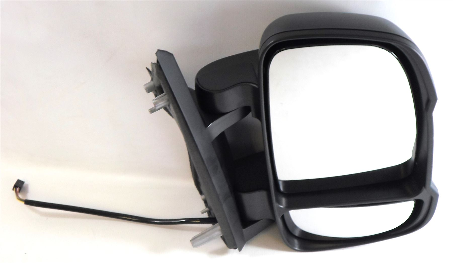 Peugeot Boxer 2006-9/2014 Short Arm Wing Mirror Electric 5w Bulb Drivers Side