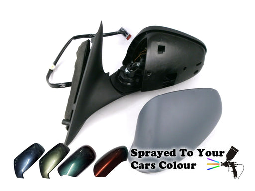 Alfa Romeo 159 2006-2012 Wing Mirror Power Folding Passenger Side N/S Painted Sprayed