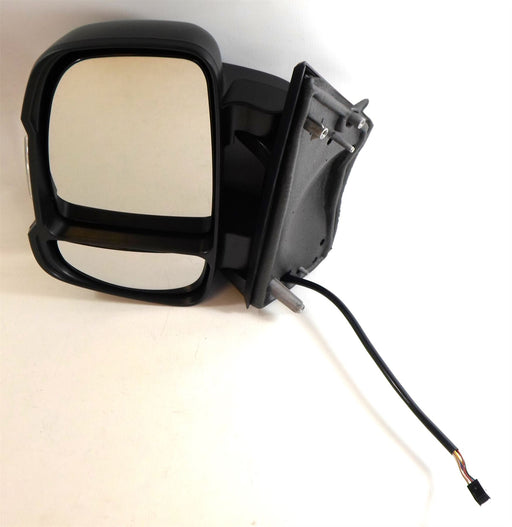 Peugeot Boxer 06-9/14 Short Arm Heated Wing Mirror Electric 5w Passenger Side