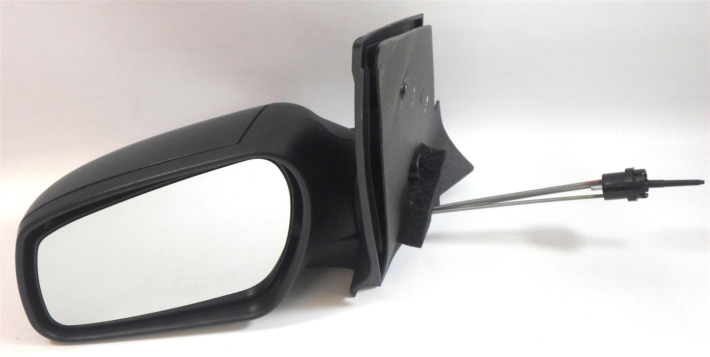 Ford Fiesta Mk6 10/2005-2008 Cable Wing Mirror Black Paintable Passenger Side