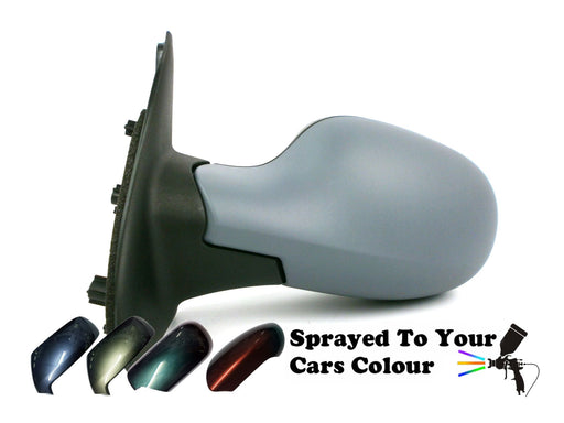 Nissan Micra K12 Mk.3 2003-2010 Electric Wing Mirror Passenger Side N/S Painted Sprayed
