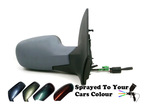Renault Megane 8/2002-4/2009 Cable Wing Mirror Temp Sensor Drivers Side Painted Sprayed
