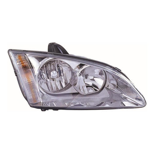 Ford Focus Mk2 Hatch 2005-5/2008 Chrome Inner Headlight Lamp Drivers Side O/S