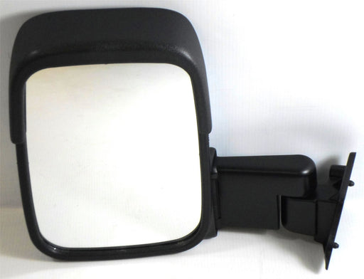 Ford Transit Mk3 & 4 1986-1994 Short Arm Wing Mirror Manual Black Passenger Side