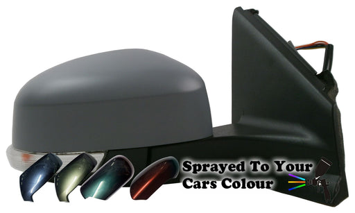 Ford Mondeo Mk4 1/2011-3/2015 Wing Mirror Power Folding Passenger Side Painted Sprayed