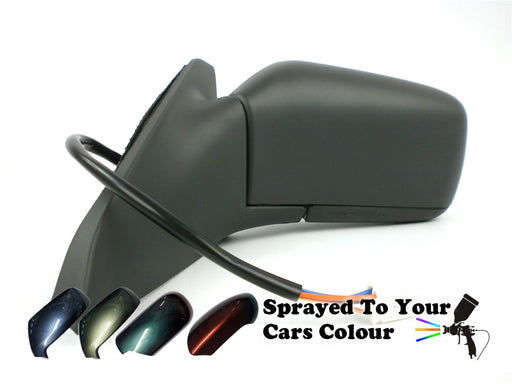 Volvo S40 Mk1 1996-5/2004 Electric Wing Mirror Heated Passenger Side N/S Painted Sprayed