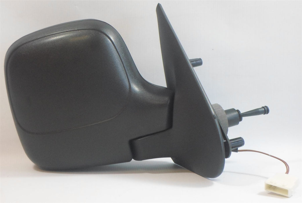 Peugeot Partner Mk.1 2009-2011 Cable Wing Mirror Heated Black Drivers Side O/S