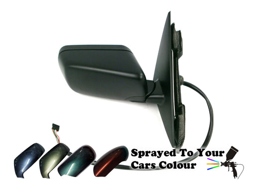 BMW 3 Series E46 4&5 Door 1998-2005 Electric Wing Mirror Driver Side O/S Painted Sprayed