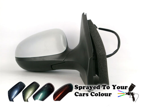 Fiat Bravo Mk2 2007-2014 Electric Heated Wing Mirror Drivers Side O/S Painted Sprayed