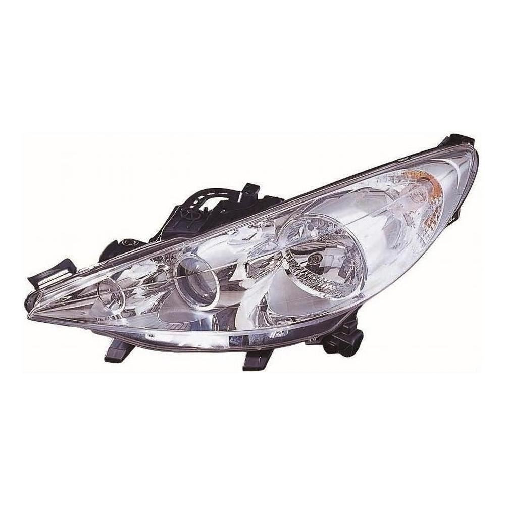 Peugeot 207 Hatch 5/2010-2013 Headlight Lamp Projector Type Passenger Side N/S